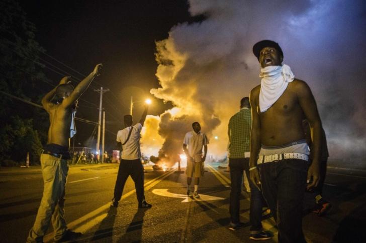 ferguson, misuri, michael brown, wilson, policía, negros, blancos, racismo, raza, segregación