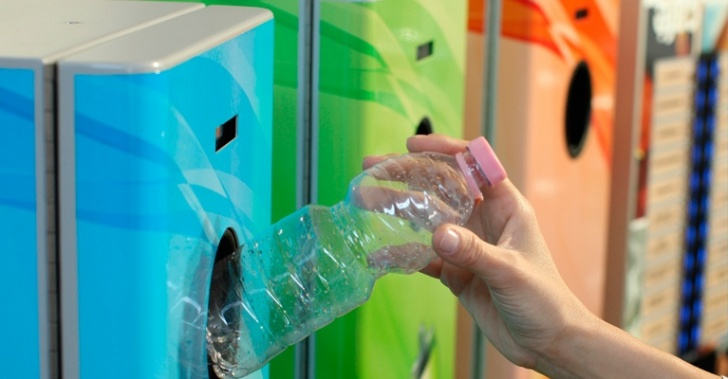 reciclaje, medioambiente, basura, desechos, botellas PET, vidrio, latas, BLUTEK, reverse vending