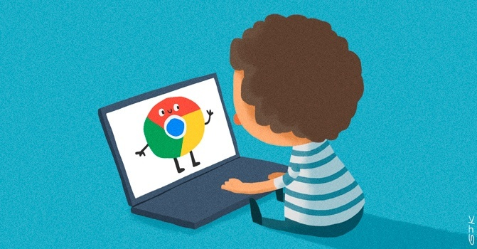 Google, Chrome, Youtube, internet para niños