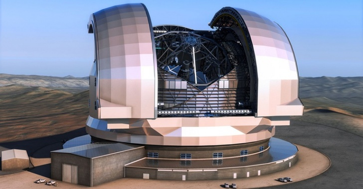 ESO, E-ELT, telescopio, Universo, astronomía, planetas, estrellas, ciencia
