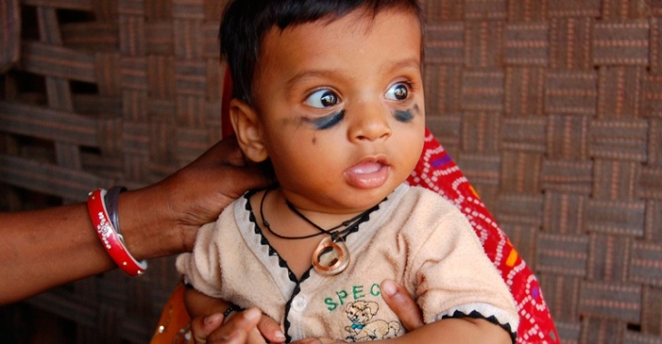 Khushi Baby,collar, india, vacunación, vidas, vacunas, Seva Mandir, kickstarter, rajastán, salud