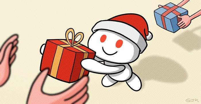 Redditgifts El Amigo Secreto Más Grande Y Genial Del Mundo