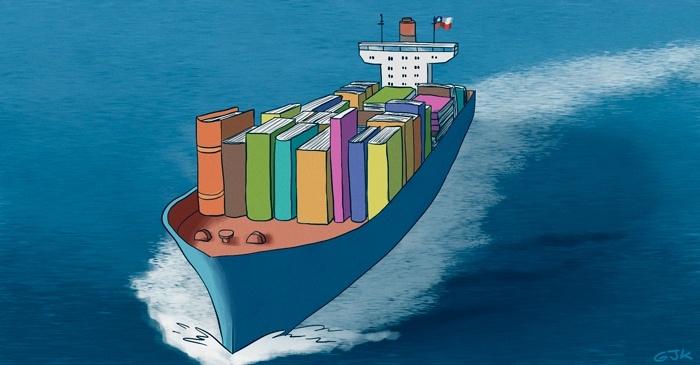 Libros chilenos, internacionalización, estrategia, cámara, editoriales, plan conjunto, industria creativa