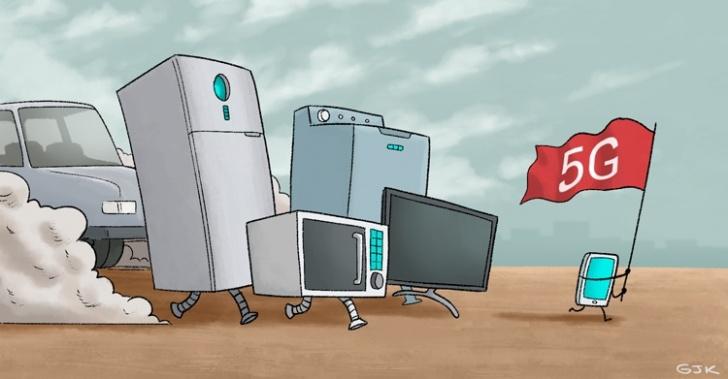 5G, tecnología, internet móvil, celulares, conectividad