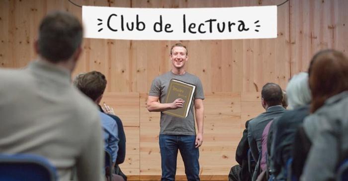 Facebook, desafíos, Zuckerberg, club de lectura, libros, metas