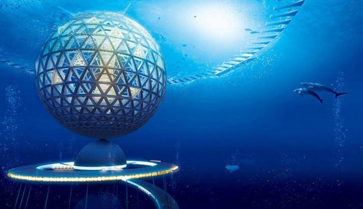 Ciudad submarina, Japón, Shimizu Corp, tierra, escasez, alimento, agua, energía, minerales
