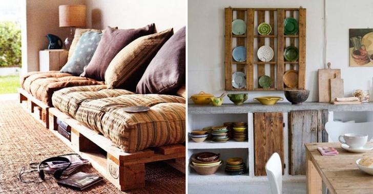 pallet, madera, diseño, muebles, casa, reciclar, reutilizar