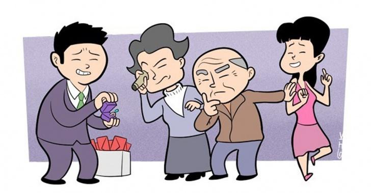 matrimonio, China, rituales, familia, té, boda
