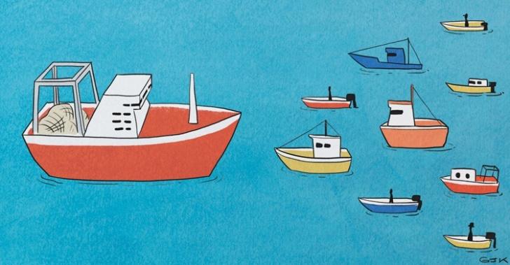 Pesca artesanal, Premio Eureka, Pesca en Línea, pescadores, productos del mar