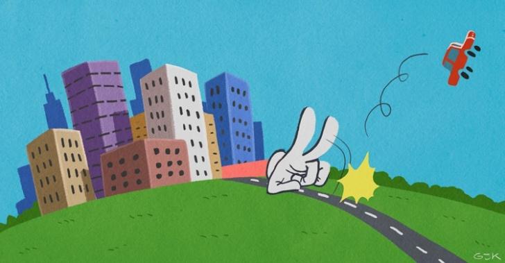 ciudad, auto, congestión, contaminación, transporte, sustentabilidad, bicicleta