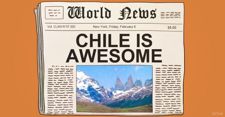 Chile, turismo, recomendación, medios internacionales, viaje, extranjeros, 2015, destinos