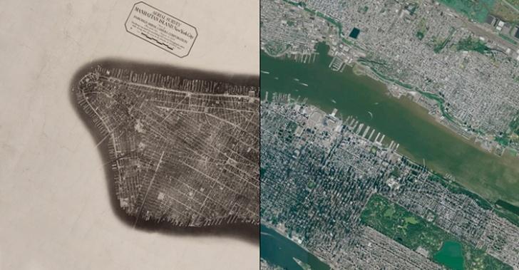 ciudad, urbanismo, pasado, barrios, calles, tecnologías, fotos, Nueva York, Santiago, Valparaíso, Puerto Montt
