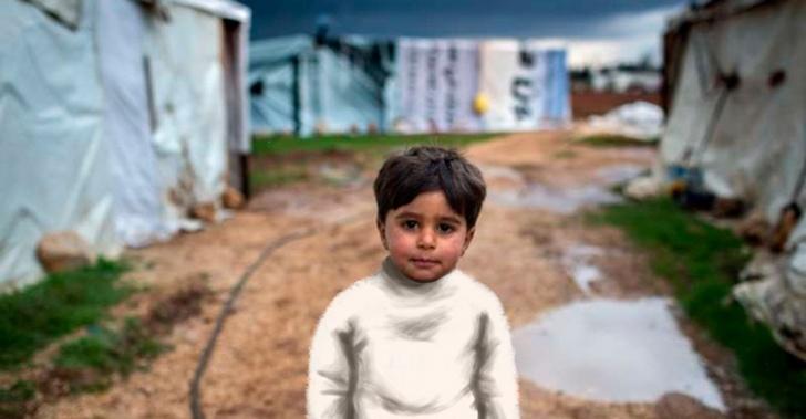 Refugiados sirios, piel de conejo de angora, Inditex, abrigos, suéter, donación, PETA