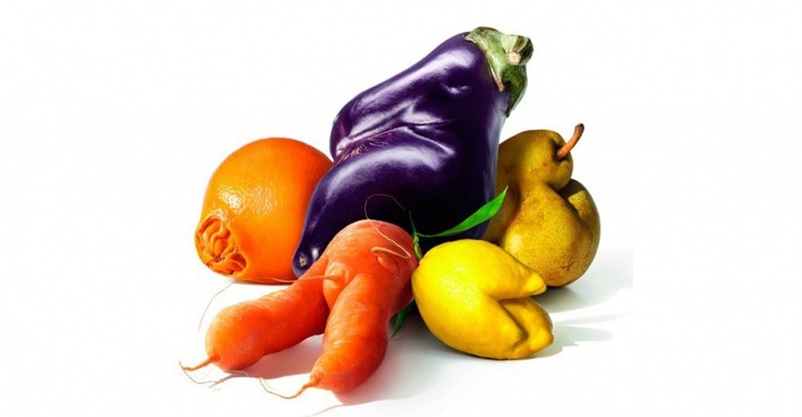 frutas, verduras, alimento, desperdicio, Intermarché, Fruits et Légumes Moches
