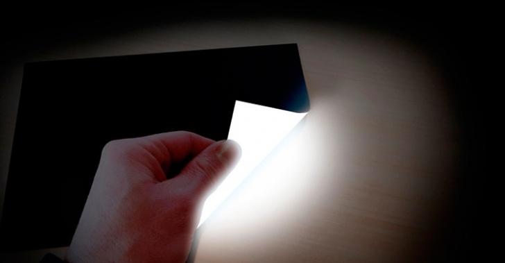 luz, tecnología, LED, impresión, tinta, Lightpaper, Rohinni