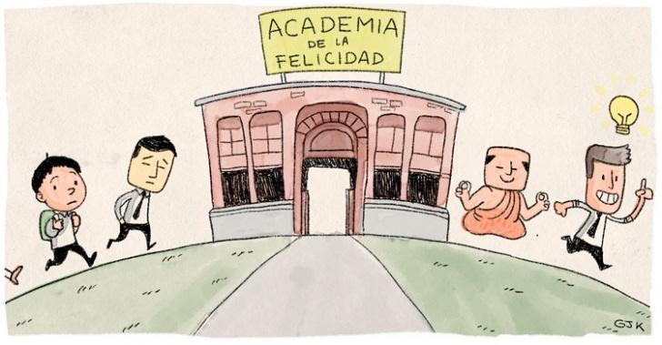 Academia de la Felicidad, IF, Av. Italia, cursos, inscripción, talleres