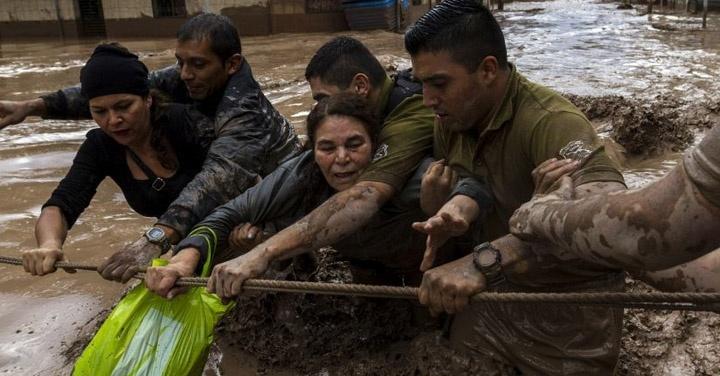 Norte, ayuda, temporal, Copiapó, centros de acopio, inundación