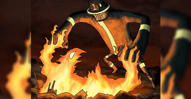 incendio, bomberos, Valparaíso, emergencia, llamas, fuego