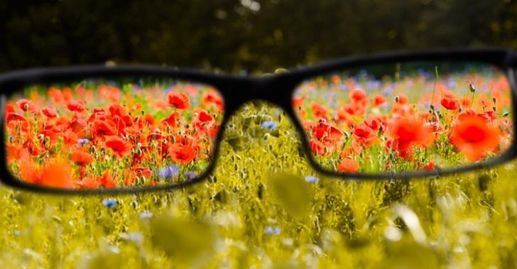 Lentes, daltonismo, visión, colores, anteojos