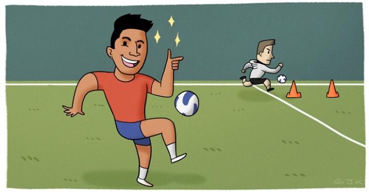 fútbol, psicología, talentos, mentalidad, superación, Alemania, Chile, Copa América, deportes, actitud, esfuerzo, determinación