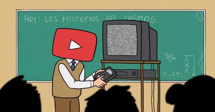 aprender, youtube, lecciones, conocimiento