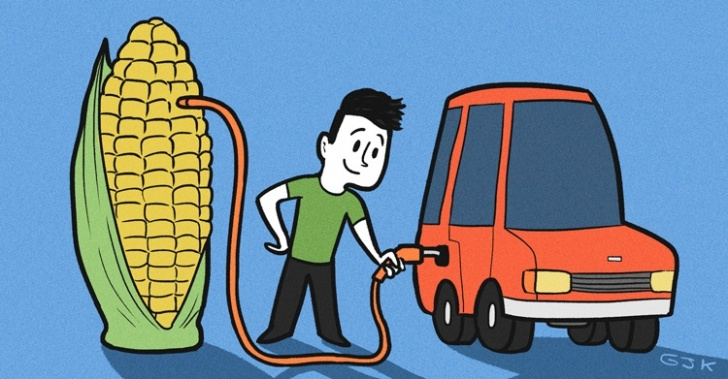 Hidrógeno, combustible, ecológico, maiz, biodegradable