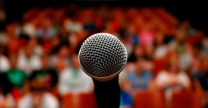 discurso, presentación, charla, hablar en público, nervios, pánico