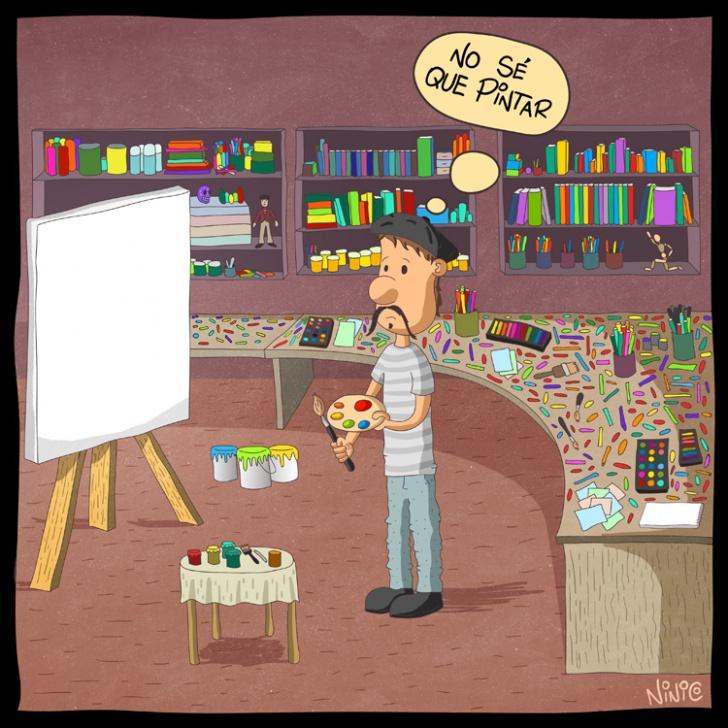 artista, arte, inspiración, pintar, colores, pintura