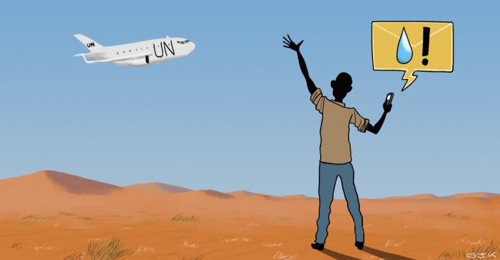 Programa Mundial de Alimentos, ONU, WFP, PMA, hambre, ayuda humanitaria, alimentación, tecnología, celular, SMS
