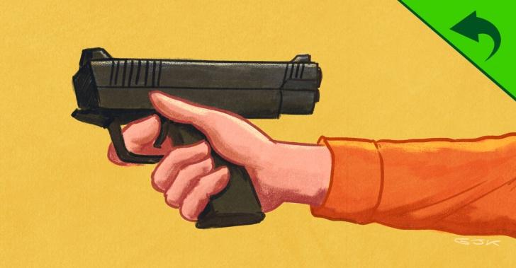 armas, pistolas, violencia, delincuencia, América