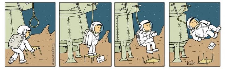 Suicidio, Espacio, Astronauta