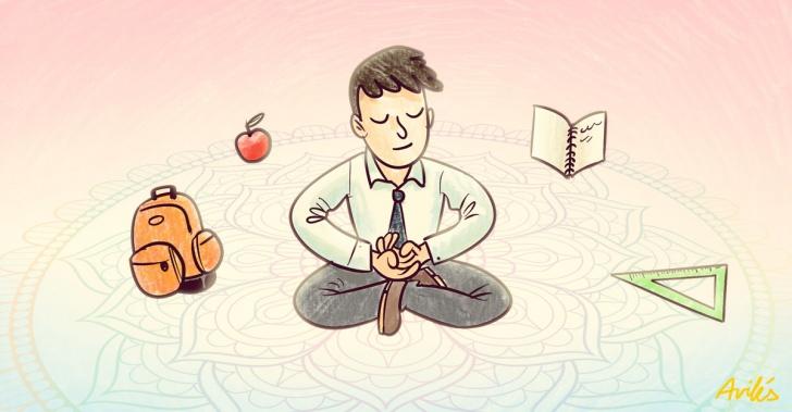 Meditación, colegio, Estados Unidos, David Lynch, Quiet Time, beneficios, silencio