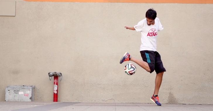 deporte, fútbol, Freestyle, superación, Juan Roberto Aguiló