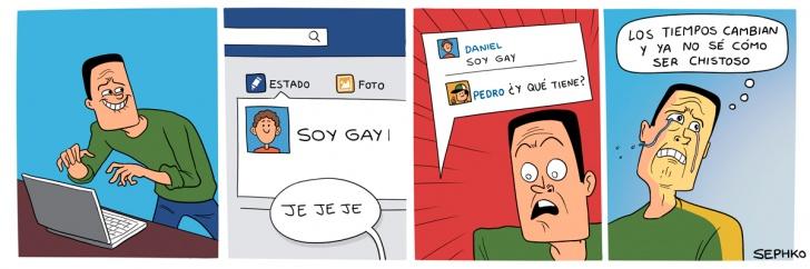 gay, cambios, derechos, tiempos, facebook, redes sociales, bromas