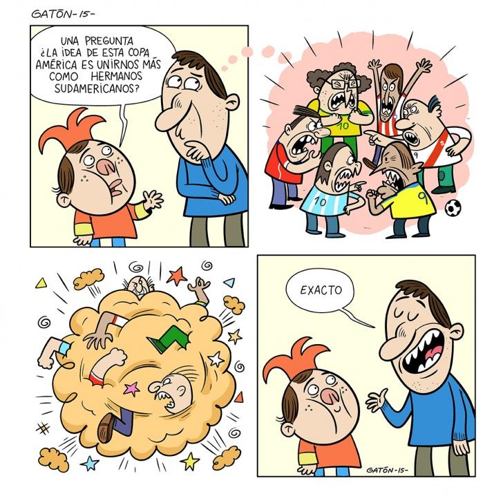 copa, américa, fútbol, chile, 2015, unión, amistad