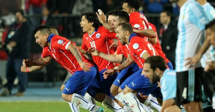 selección, fútbol, Copa América, Chile, Argentina, Copa, triunfos, éxitos, derrotas, equipos, trabajo, psicología, actitud, valor, confianza