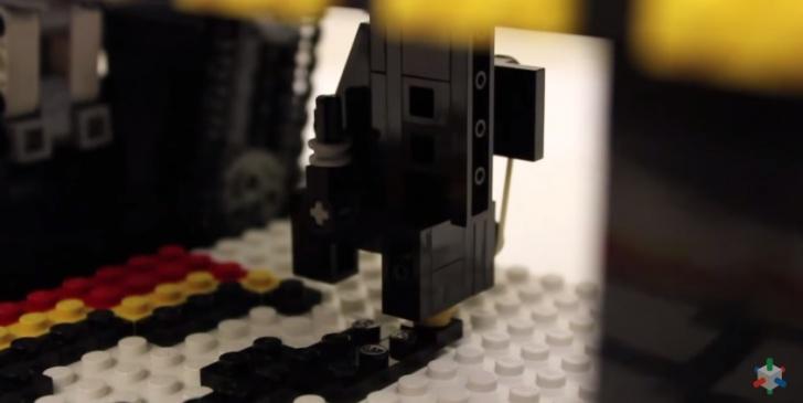 LEGO, curioso, tecnología, impresión, juguete