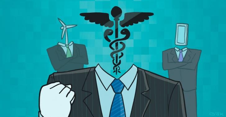 Biomedicina, medicina, empresas inteligentes
