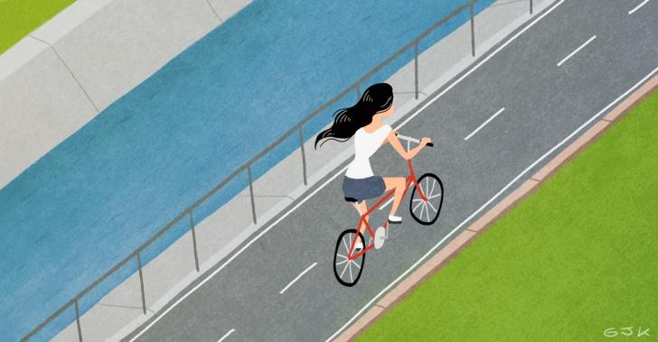 ciclovías, bicicleta, transporte, sustentabilidad, ríos, ciclopaseos, áreas verdes, parques, urbanismo, ciudad