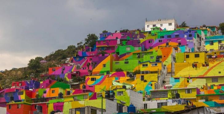 arte, mural, México, Pachuca, comunidad
