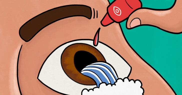 ojos, cirugía, drogas, esteroides,