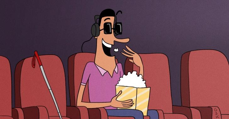 Cine, colombia, ciegos, no videntes, Cine para Todos, inclusión, iniciativa