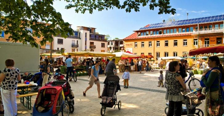 Ciudad, sustentable, ecológica, sin autos, Alemania