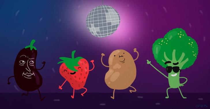 Disco Sopa Chile, desperdicios alimenticios, fruta, verdura, desechos, consciencia