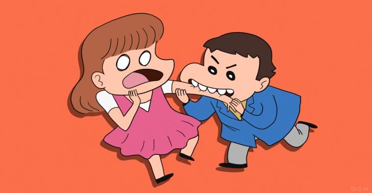 niños, jardín infantil, morder, rabia, peleas