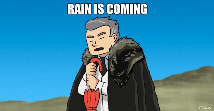 Algoritmo, lluvia, predecir, anticipación, 30 días, China