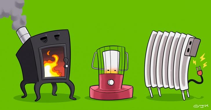 Calefacción, sustentable, guías, zonas de Chile, ministerio Medio Ambiente, S-SAVE, alternativas, tipos de calefacción
