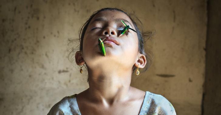 India, matriarcado, mujeres, ciudad limpia, niñas