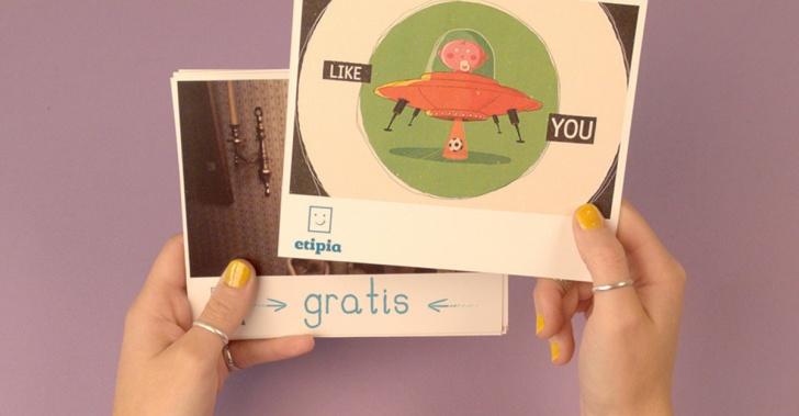 fotos, postales, correo, cartas, red social, comunicación, Etipia, app