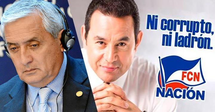 Guatemala, Pérez Molina, elecciones, presidenciales, corrupción, Jimmy Morales